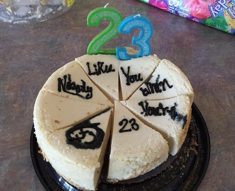 Facebook cake 12
